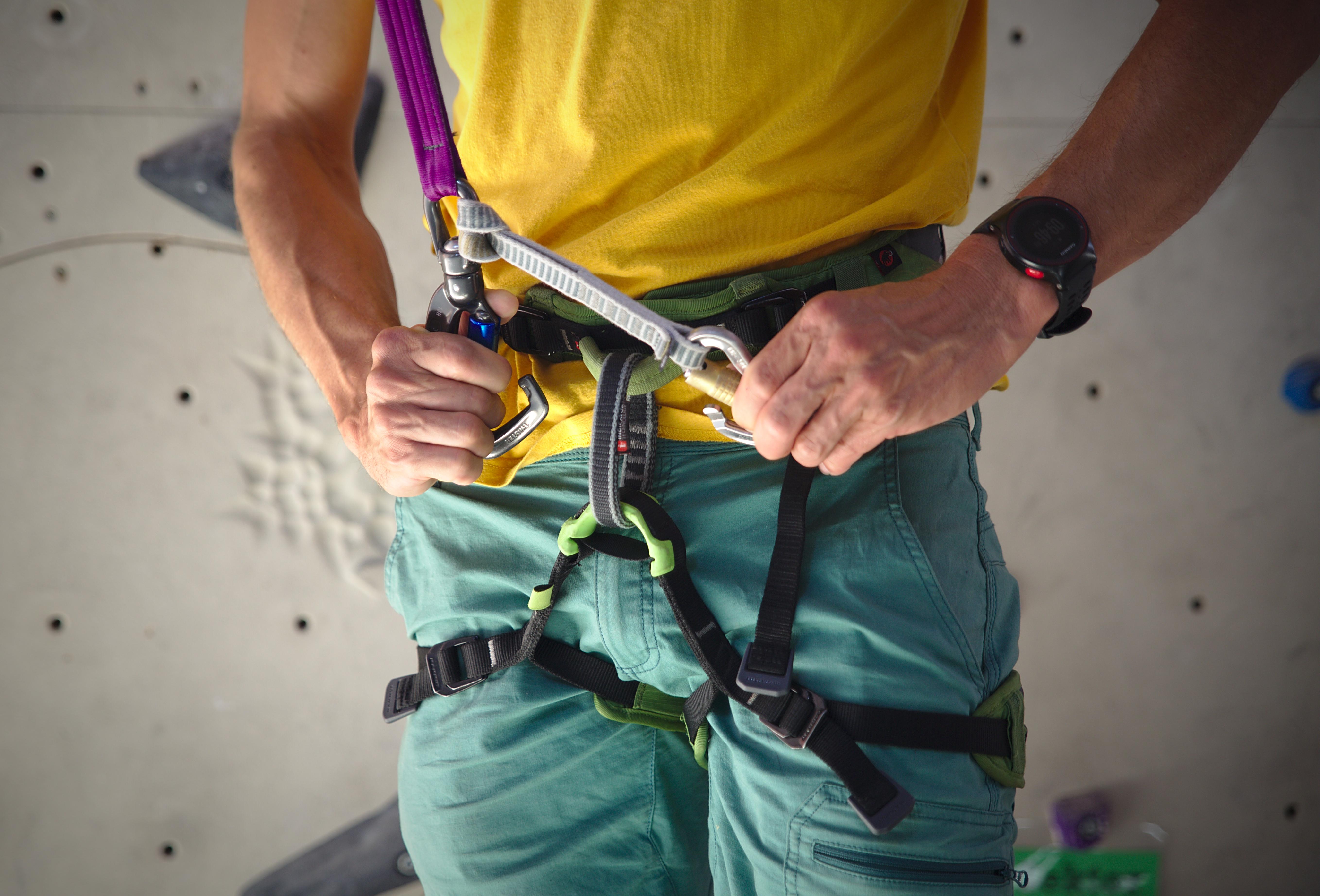 Klettergurt Mit Selbstsicherung : Verleih city adventure center
